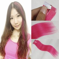 Wholesale Hot Selling A Malaysian Seamless Skin Weft Tape Hair Extensions inch More Color Tape Human Hair Extensions Bellqueen Hair Products
