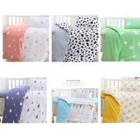 baby boy nursery bedding set - Crib Bedding Set pc Nursery Bedding Baby Boy Girl Style Crown Tree Mickey Flag Colorful Kid Sheets Pillow Children s Day Gift