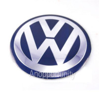 Wholesale set Wheel Center Hub Caps Blue Logo Emblem Badge Decal Sticker cm mm For VW Jetta Golf MK4 Bettle Passat