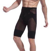 Wholesale New Hot Mens High Waist Slimming Shorts Body Tummy Control Panties Shaping Pants Underwear