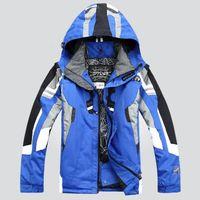 Wholesale Hot sale New Men ski suit outdoor sportwear ski jacket windproof waterproof skiing clothing