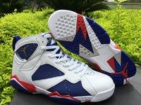 Wholesale Air Jordan Retro TINKER ALTERNATE OLYMPIC Jordan Sneakers Shoes Retro s Men Basketball Sports Shoes Air Jordans Basketball Shoes