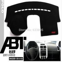 Wholesale VW polo Dashboard mat dark visor keeps sun Embroidery section