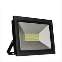 Wholesale LED FloodLight W W W W Reflector Led Flood Light Spotlight V V Waterproof Outdoor Wall Lamp Garden Projectors