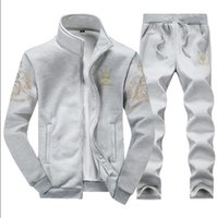 Wholesale spring and autumn Man Hoodies Clothing Casual Sportswear Mens Maseratied Tracksuit Sports Sweatshirts Men s Sport Suit