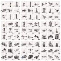 Juguetes clásicos Baratos-1000pcs CCA4226 alta calidad 88 del estilo 3D del rompecabezas clásico DIY metálico Nano Puzzle Niños Modelo Educativo del rompecabezas del juguete de Star Wars edificio del rompecabezas