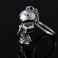 asimo robot - Top Fashion Asimo Robot key chains keychain key holders key ring for honda auto car styling
