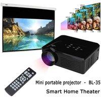 atv manuals - 2016 New BL Digital Mini lumens LED LCD Projector HD P Home Theater support USB SD VGA ATV HDMI