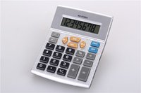 Wholesale Hot KK A Calculator Creative Scientific Digital calculaor Office Commercial Tool Battery Powered Big Button Electronic Gifts