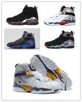 aqua brand shoes - 2016 High Quality Retro VIII Aqua Bugs Bunny Phoenix Playoffs Men Womens Basketball Shoes Brand New Athletic Sport Sneakers J8
