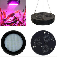 Wholesale 2016 new arrivals UFO W LED Grow Light Full Spectrum Hydroponic Lightings for Greenhouse Plant Veg Grow Bloom