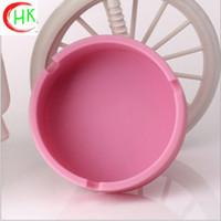 bars hotel furniture - Kang and cute pink creative circular ashtray non toxic does not burn bar furniture hotel safe and practical