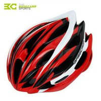 Wholesale BASECAMP New Bicycle Helmet Men Women Intergrally Molded Cycling Helmet Sport Breathable MTB Road Mountain Bike Helmets H5036