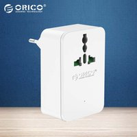 Wholesale ORICO S4U EU Home Office Surge Protector With USB V4 A20W With AC Multi Outlet Travel Power Strip White Black