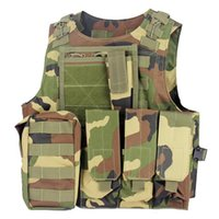 Wholesale Military tactical army Vest Plate carrier airsoftsports Ammo Chest rig paintball hunting clothing Wargame Body Armor Harness