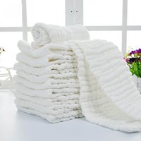 Wholesale Soft Cotton Baby Washcloth Bath Towel Newborn Bathing Feeding Wipe Cloth