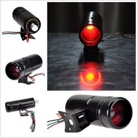 Wholesale Hot Tachometer RPM Adjustable Shift Light Tacho Gauge V Red LED Light Black Universal Make and Model