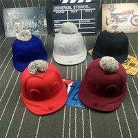 baseball caps hair - Star With The Cute Hair Cap Hat Mickey Mouse Wool Hat Cap Warm Winter Travel Baseball Cap S290
