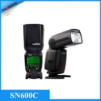 Cheap SHANNY SN600C Flash Light HSS 1 8000S On-camera TTL GN60 Flashgun Speedlite for Canon 7D Mark II 5D2 5D3 60D 70D DSLR Cameras
