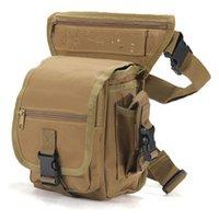 Wholesale Tactical Waist Bag Military equipment waist bag for men waterproof leg bag waist packs for material new for running Free DHL Fedex