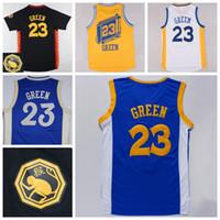 Wholesale Cheap Draymond Green Shirt Sale Rev New Material Draymond Green Jerseys Uniforms Christmas Chinese Team Color Blue White Black Yellow