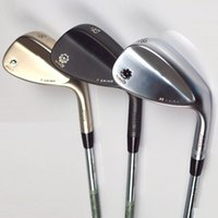 Wholesale Brand New Spin Milled Golf Clubs Wedge Vokey Golf wedges loft Silver Black Gold SM5