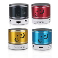pc speaker - 1 Portable LED Bluetooth Music Speaker Stero Subwoofer Multicolor Blue Tooth Speakers Subwoofers