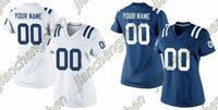 authentic colts jersey - 2016 Custom Women s Indianapolis Colt Game Football Home Away Personalized Jersey Authentic High Quality Stitched Wear
