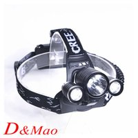 bicycle hunting - CREE XML T6 LM Torch LED Rechargeable Headlamp Headlight Bicycle Bike Lamp Spotlight For Hunting