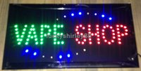 business open sign - direct selling LED Vape Shop sign custom neon signs of electronic cigarettes shop open business inch