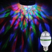Wholesale High Quality Colorful E27 W V Mini Rotating LED Stage Party Dance KTV Bar Ballroom Bulb Lamp EB0207 lamp cherry