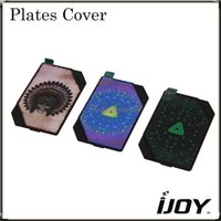 Wholesale IJOY Limitless W Cover Interchangeable Magnetic Plates Cover Beautiful Dress for iJoy Limitless TC200W Mod Original