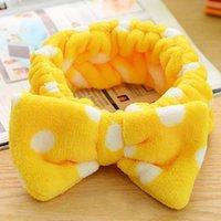 Wholesale Bow Point Butterfly Hairband Dot Bowknot headband fashion style