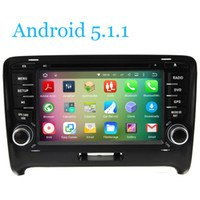 Wholesale Android Car DVD Player GPS Navi Quad Core For Audi TT G WIFI BT TV RDS Radio USB