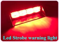 Cheap Strobe Light car led warning light Best 3W 12V car led strobe light