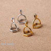 al por mayor collar de punta-36pcs encantos de la vendimia extremo de la cuerda de los granos Tip Caps MakingD002 pendientes de la joyería caben las pulseras de metal al collar