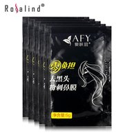 Wholesale 1Pcs AFY Beauty Care Face Care Nose Herbal Blackhead Remover Mask Face Deep Cleansing Purifying