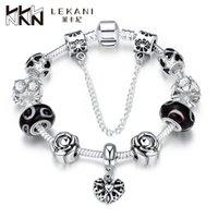 amazon bracelets - 2016 Hot Foreign trade DIY glass beaded bracelet crystal jewelry fashion jewelry accessories Amazon explosion PDRH016