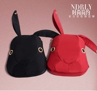 Wholesale 2016 new cute rabbit woman Backpack Bag nylon bags handbags fashion rabbit