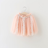 baby tutus fluffy - Cute Baby Girls Skirts New Kids Lace Tulle Tutu Skirts Baby Fluffy Skirt Girls Summer Dresses Elegant Children Clothes for T