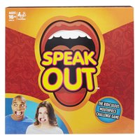 Wholesale new Speak Out Games Ridiculous Mouthpiece Challenge Game game for your mouthpiece with paper cards funny game for christmas fit for family