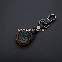 altima lights - Hand Stitched Sewing Leather Car Key Cover Case For NISSAN SENTRA VERSA TIIDA ALTIMA MAXIMA CUBE ROGUE JUKE NOTE QASHQAI SYLPHY