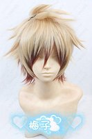 amnesia cosplay - Heat Resistant gt gt gt gt Amnesia Toma short Blond Brown mix Cosplay Wig