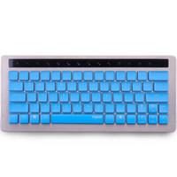 al por mayor teclado inalámbrico rapoo-cable USB rapoo y 87 llaves inalámbricas NEGRO / azul / rojo / blanco / amarillo teclado mecánico KX con interruptores AMARILLO