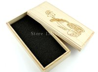 alps wraps - Handmade Carved Wooden Storage Box Case With Lid For Gift Wrapping