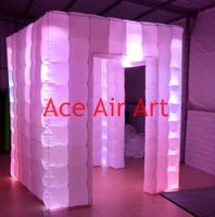 beautiful tents weddings - led lighting wedding party used rental hot sale beautiful inflatable square tent with free air blower