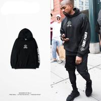 big men hip hop clothing - Yee zy hoodie men hip hop for big man tracksuit Kanye west tour yeezus season clothing camiseta saint pablo sweatshirts