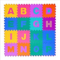 Wholesale Children s Game Blanket Baby Crawling Mat EVA Game Pad Puzzles Baby Waterproof English Letter A to Z cm ER