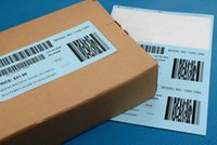 Wholesale Barcode sticker shipping label customized size UPC barcode for Amazon paypal