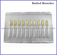 No Yes  Free Shipping 10 packs Dental Endodontic Files Root Canal Short Barbed Broaches 2# Yellow 21mm  25mm  28mm